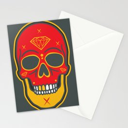 Skull Diamond Stationery Cards