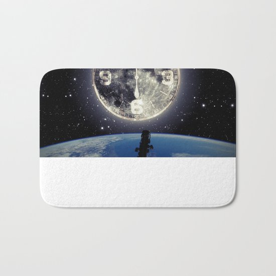 Midnight at Space Bath Mat