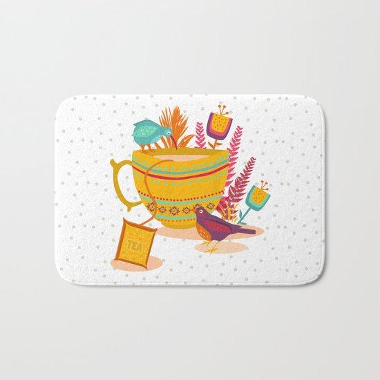 My cup of tea Bath Mat
