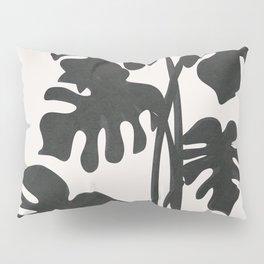 Monstera Line Pillow Sham