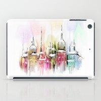 vienna iPad Cases featuring Christmas in Vienna by tatiana-teni
