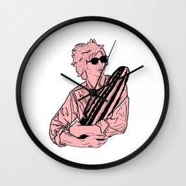 PINK SAN PEDRO Wall Clock