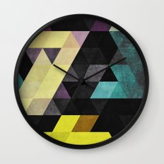 scrytch tyst Wall Clock