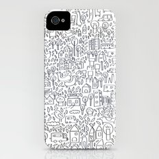 Neighborhood II iPhone (4, 4s) Slim Case