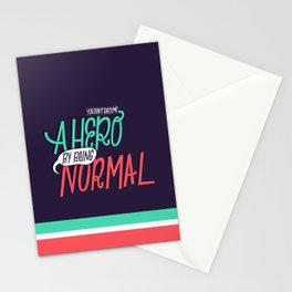 Abnormal Hero Stationery Cards