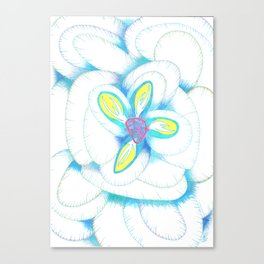 Study in Bloom  Canvas Print