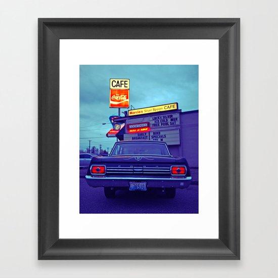 Classic Fairlane Framed Art Print