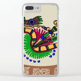 Quetzalcoatl II Clear iPhone Case