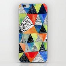 Doodled Geometry iPhone Skin