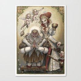 Piety & Wickedness Canvas Print