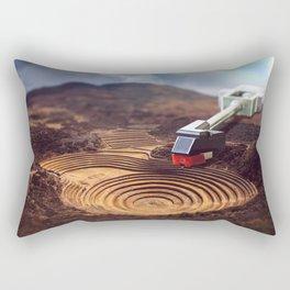 Nature's Groove Rectangular Pillow