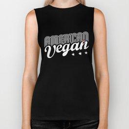 """""""American Vegan"""" Biker Tank"""