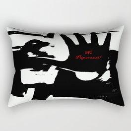 No Paparazzi! Rectangular Pillow
