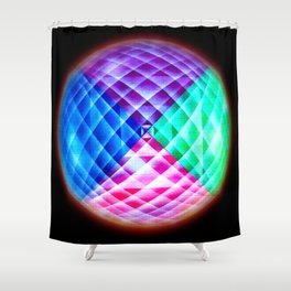 Abstract perfection  110 Shower Curtain