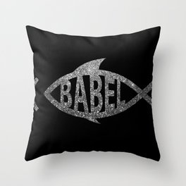 Babelfish Throw Pillow