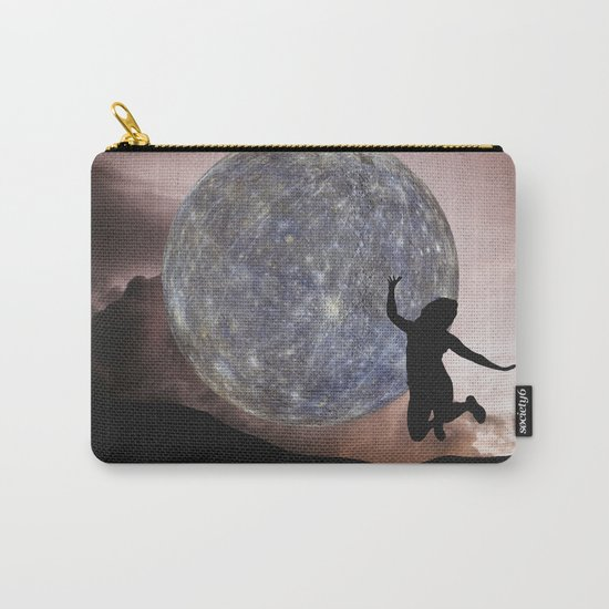 DANCING WITH THE MOON Carry-All Pouch