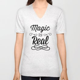 Magic is Real Unisex V-Neck