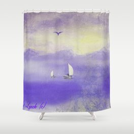 Courage And Fortitude Shower Curtain
