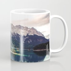 Green Blue Lake and Mountains - Eibsee, Germany Mug