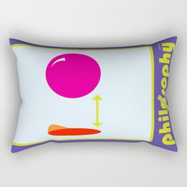 [UN] DISCIPLINE: PHILOSOPHY Rectangular Pillow
