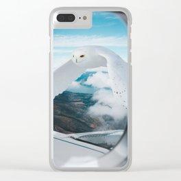Dream Owl Manipulation Clear iPhone Case