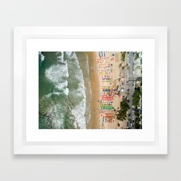See you in Rio Framed Art Print