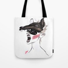 The Masquerade: The Wolf Tote Bag