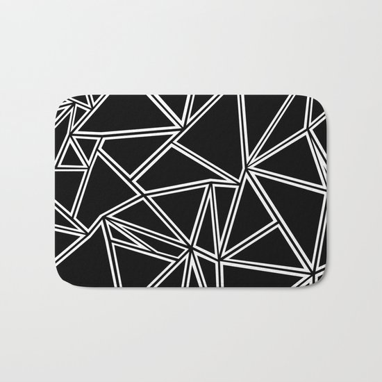 Shattered Ab Zoom Bath Mat
