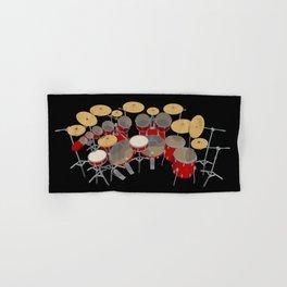 Large Drum Kit Hand & Bath Towel