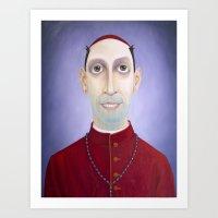Bishop Fingah Art Print