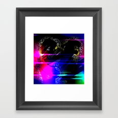 Mysterious Sisters Framed Art Print