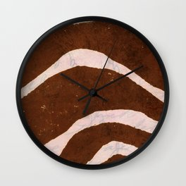 Up Then Down  Wall Clock