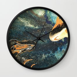 To Wish of a Stream Wall Clock