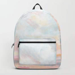Dissipate - Bright Colorful Ocean Seascape Backpack