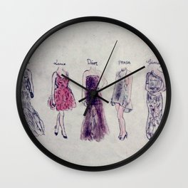 Haute Couture  Wall Clock