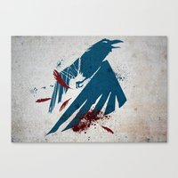 infamous Canvas Prints featuring inFamous Second Son Good Karma by Kyrsten Carlson