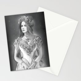 Lana in Mourning Stationery Cards