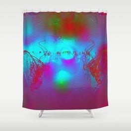 Effervescent Sheen Shower Curtain