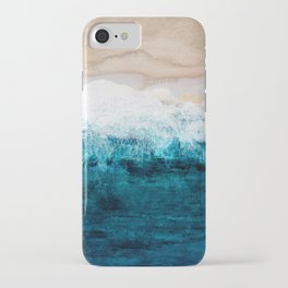 Watercolour Summer beach III iPhone Case