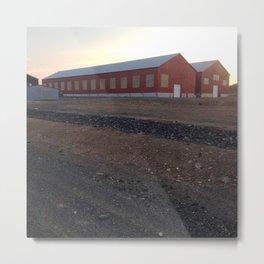 Buchans, Newfoundland Asarco Buildings Metal Print