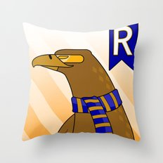 Ravenclaw Eagle (book version) Throw Pillow