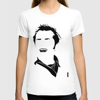 jack nicholson T-shirts featuring Faceless Nicholson by StayDry
