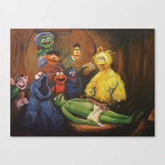 The Anatomy Lesson of Dr. Bird Canvas Print