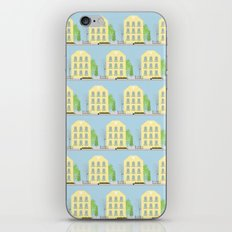 Yellow houses iPhone & iPod Skin