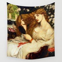 "Dante Gabriel Rossetti ""Lady Lilith"" Wall Tapestry"