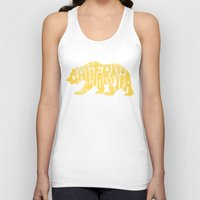 california Tank Tops featuring CALIFORNIA by DCAY