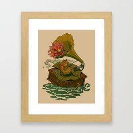 Old Toad Framed Art Print