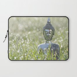 Buddha in the sea of a thousand lights Laptop Sleeve