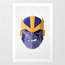 Thanos Art Print
