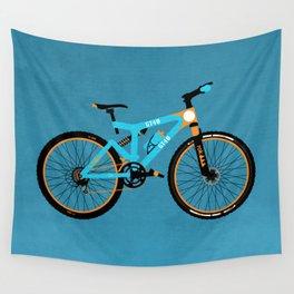 Mountain Bike Wall Tapestry